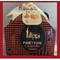Panettone al caramello salato, Pasticceria Filippi